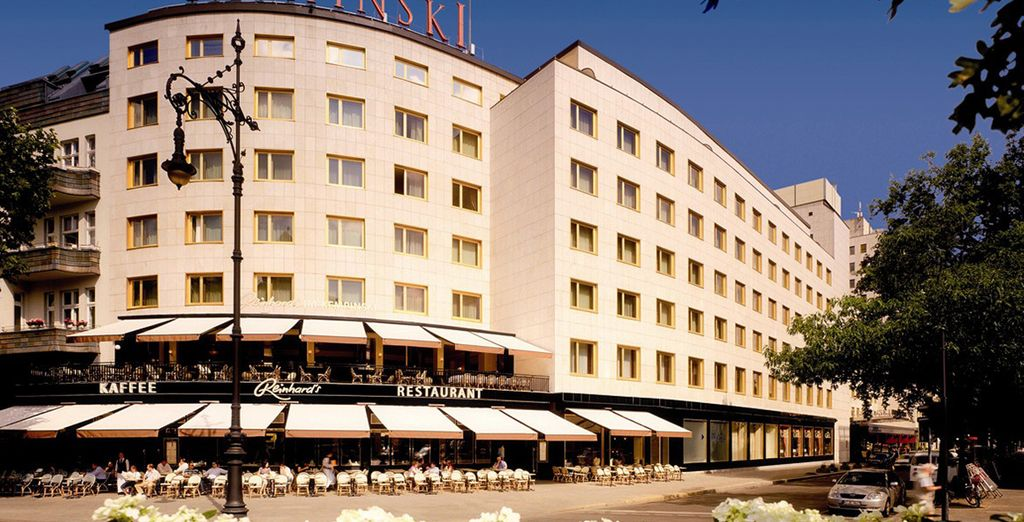 Das Hotel liegt direkt am Kurfürstendamm