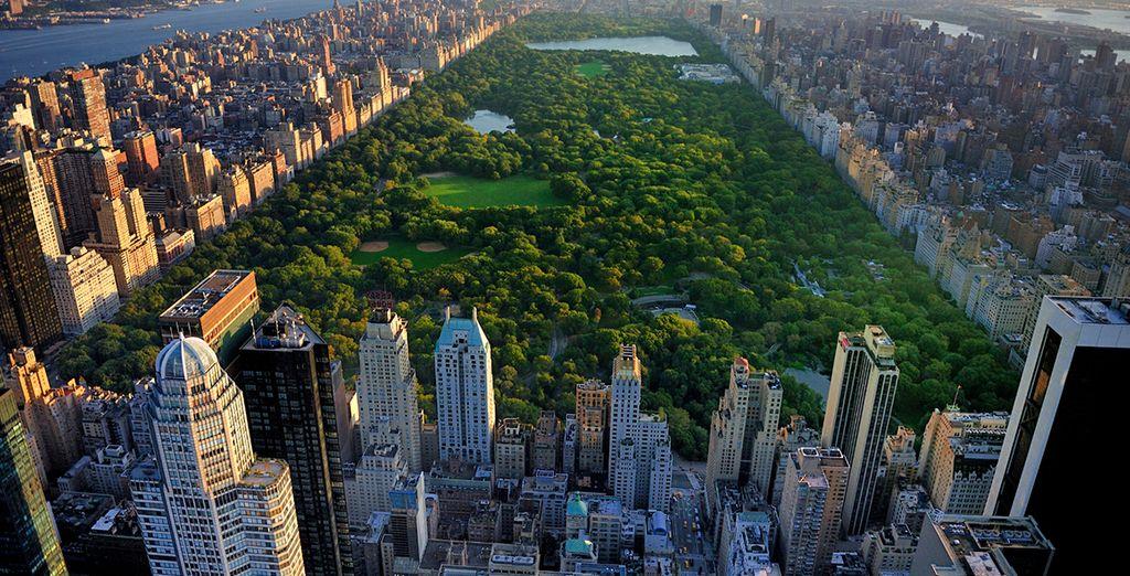Verbringen Sie einen wundervollen Tag im nahe gelegenen Central Park