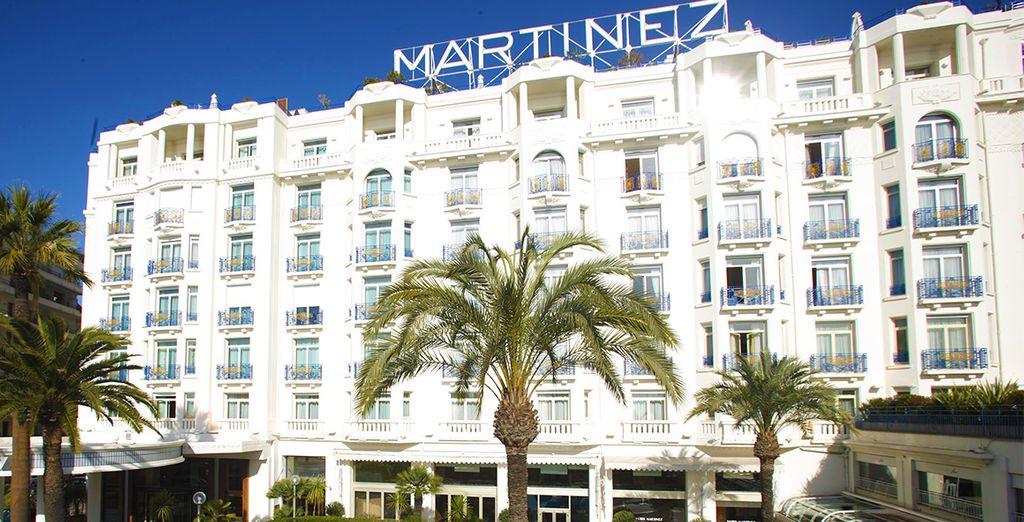 Das legendäre Grand Hyatt Cannes Hotel Martinez