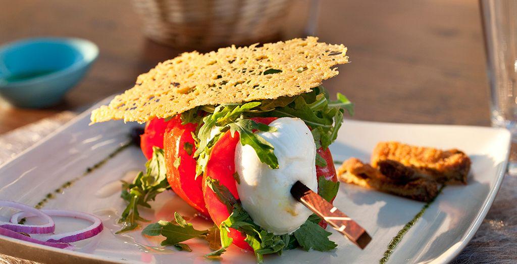 Geniessen Sie sommerliche Speisen