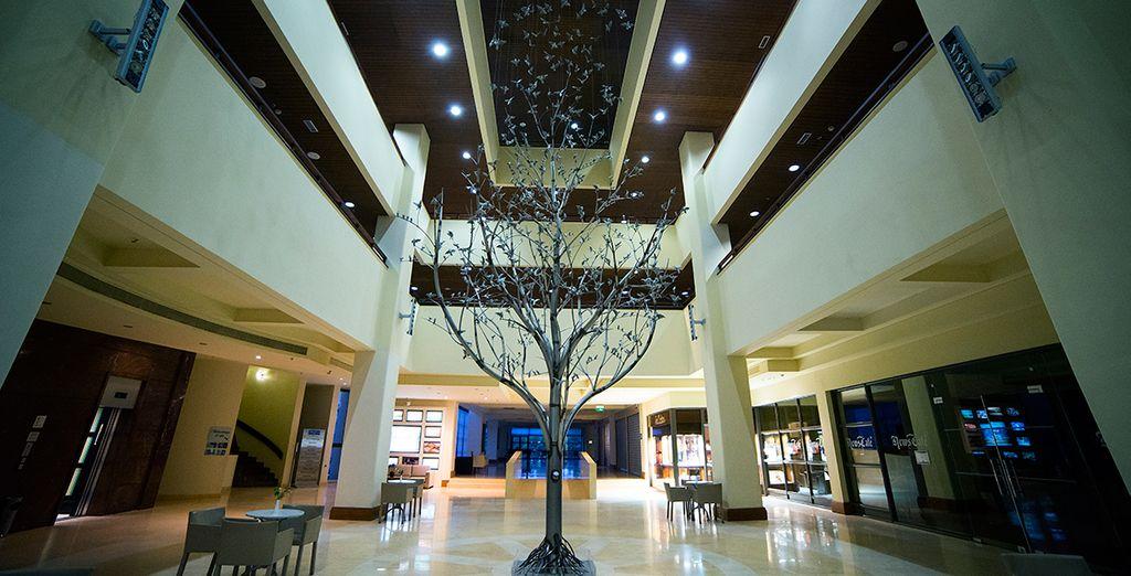 Die modernen Lobby