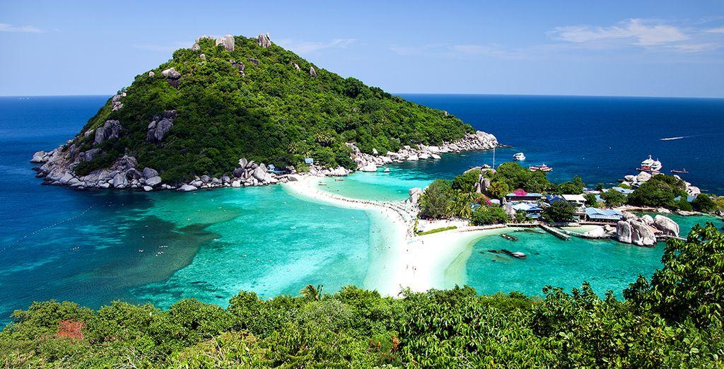 Entdecken Sie die umliegenden Inseln wie Nang Yuan