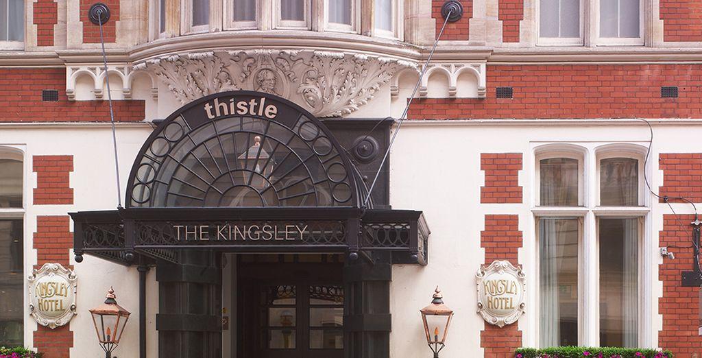 Genießen Sie Ihren Aufenthalt in einem klassischen Gebäude im historischen Zentrum von London