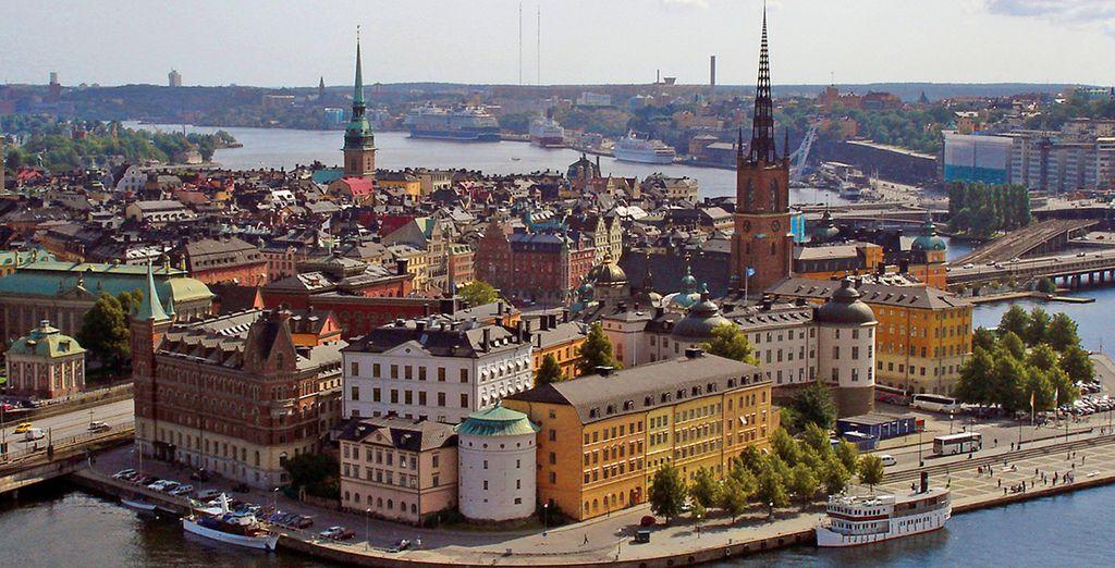 Weiter geht es in die bezaubernde schwedische Hauptstadt Stockholm