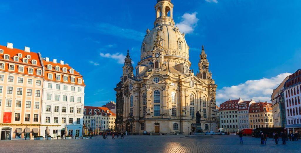 ... und besichtigen Sie die berühmte Frauenkirche