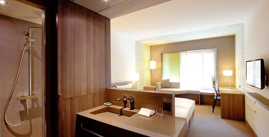 Ihr Superior Zimmer ist geräumig und bietet Komfort mit Stil