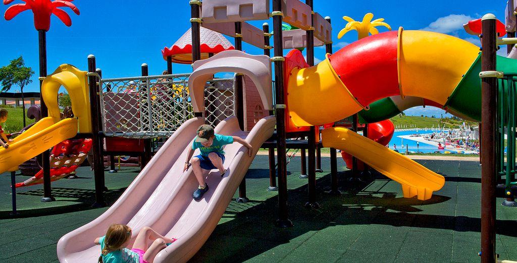 Es wird auch viel Spaß für die Kleinen geboten...