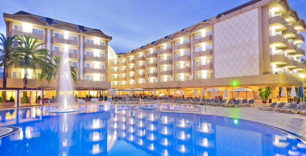 Entdecken Sie das Hotel Florida Park 4*