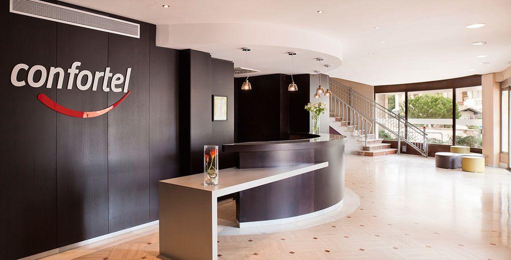 Das Hotel ILUNION Caleta Park wartet auf Sie
