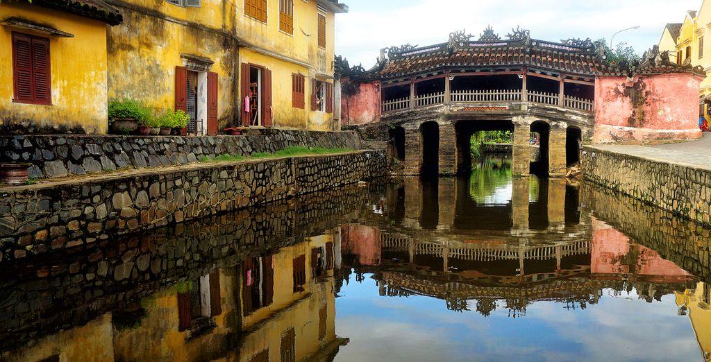 Anicent Hoi An und die Japanische Brücke