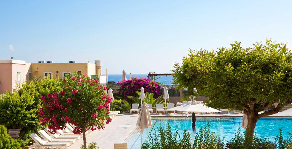 Willkommen im Hotel Silva Beach 4*