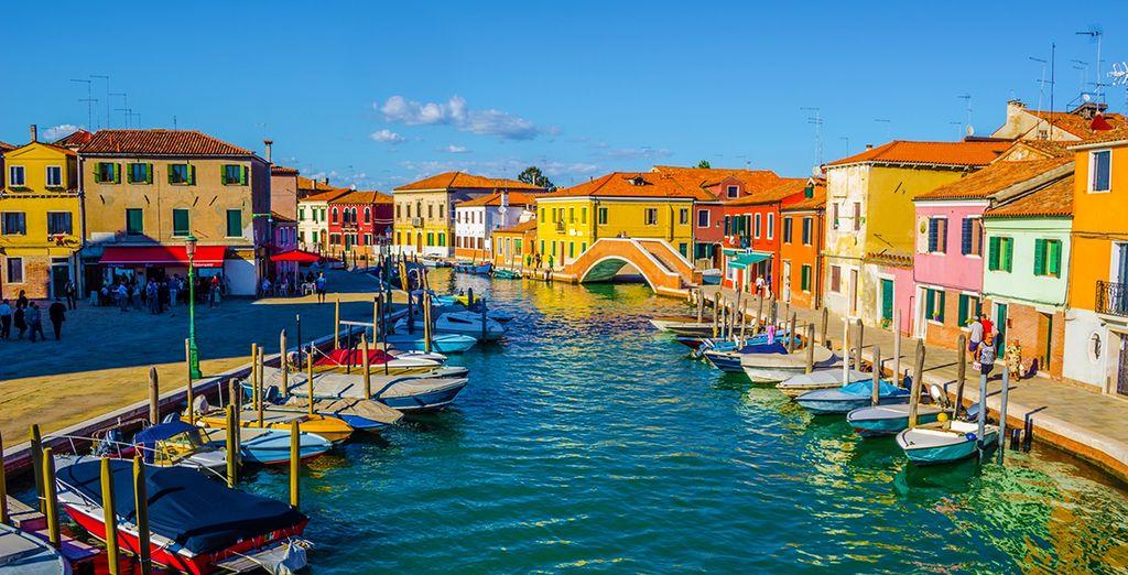 Willkommen in Venedig, Genauer gesagt Murano, die Insel der bunten Häuser!