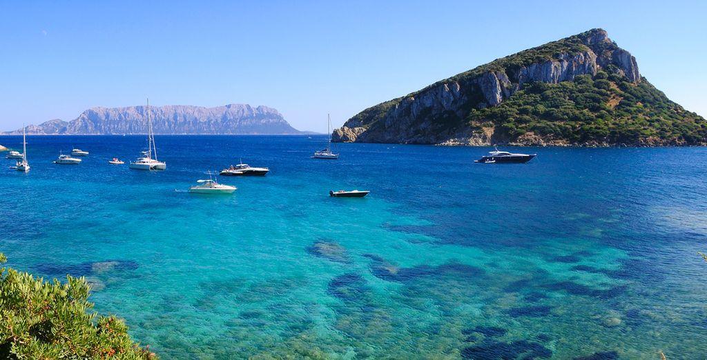 Tauchen Sie ein in das kristallklare Wasser Sardiniens
