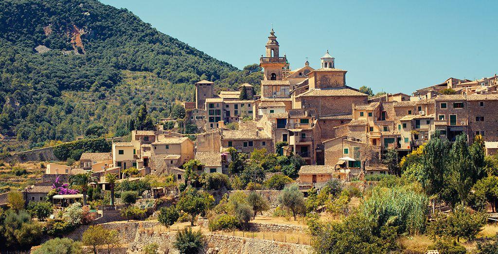 Malerischen Dörfer erwarten Sie