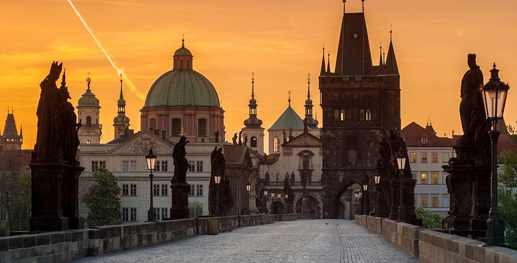 Wir wünschen Ihnen einen angenehmen Aufenthalt in Prag!