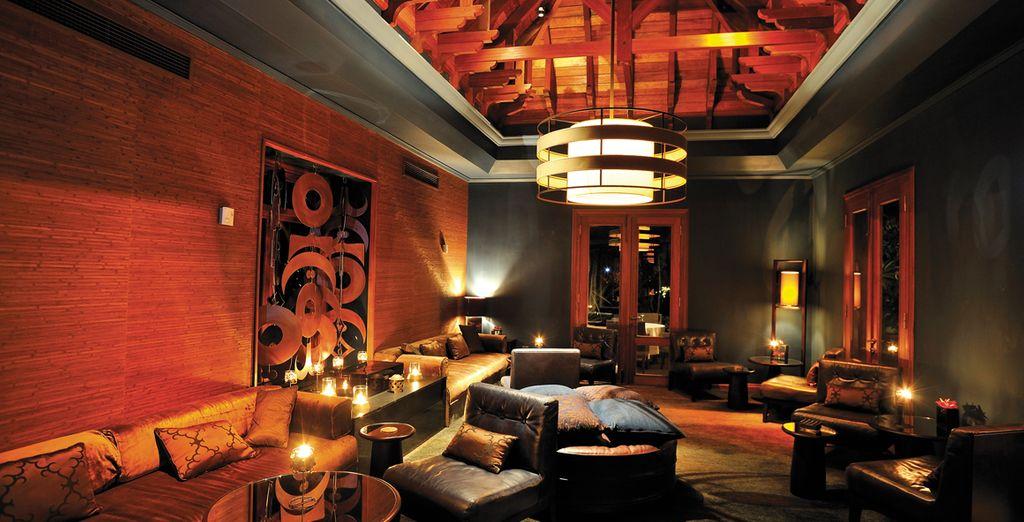 Die Cilantro Lounge heißt Sie für gesellige Abende herzlich willkommen