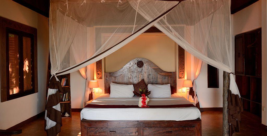 Oder wählen Sie ein Deluxe Zimmer mit Meerblick