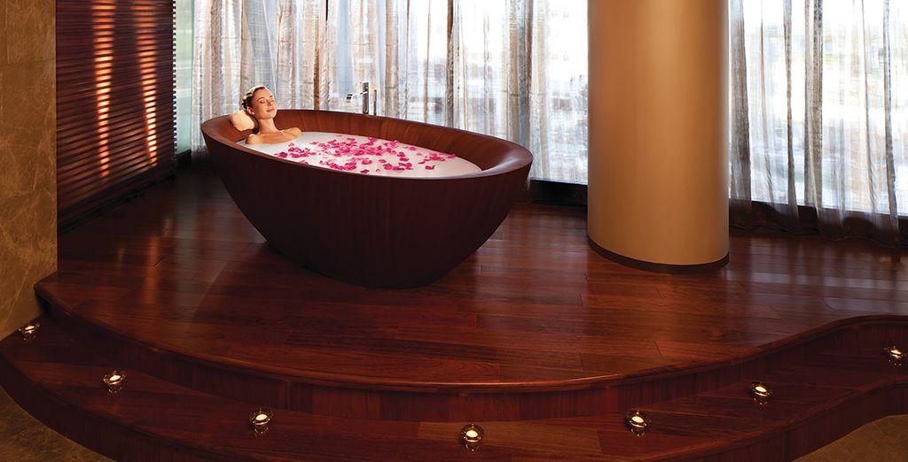 Der Spa des Hotels bietet Ihnen einen Moment wohlverdienter Entspannung