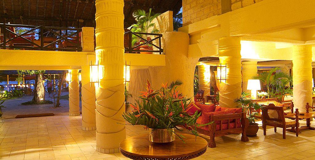 Ein ökologisches Hotel