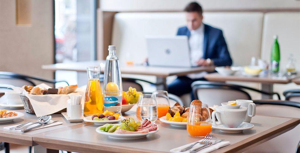 Genießen Sie jeden Morgen das köstliche Frühstück
