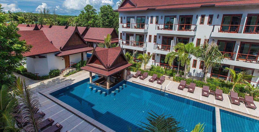 Das 4* Hotel T-Villas heißt Sie herzlich willkommen!