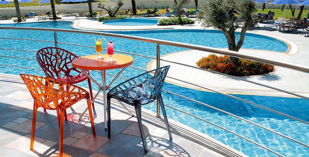 Entspannen Sie am Pool