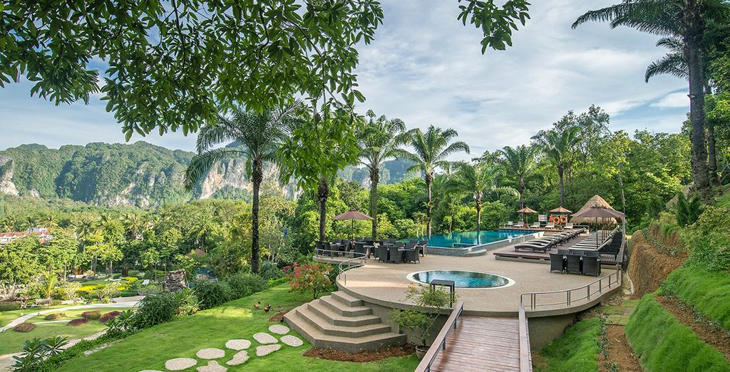 In Krabi erwartet Sie ein luxuriöses Refugium