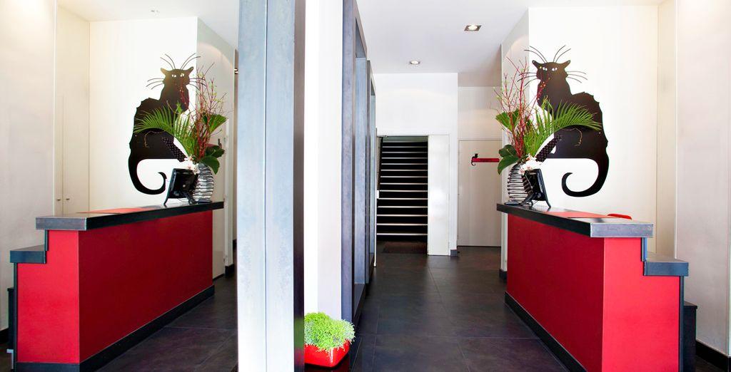 Entdecken Sie das Chat Noir Design Hotel 4*