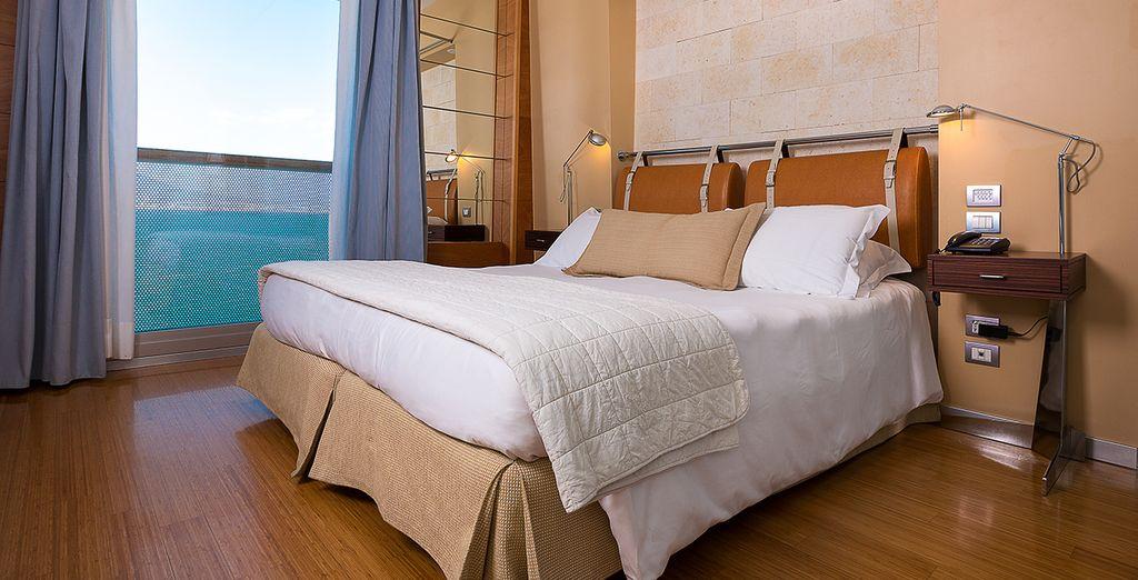 Ihr komfortables Standard Zimmer mit Meerblick
