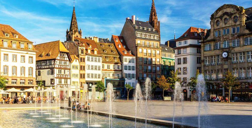 Wir wünschen Ihnen einen angenehmen Aufenthalt in Straßburg!