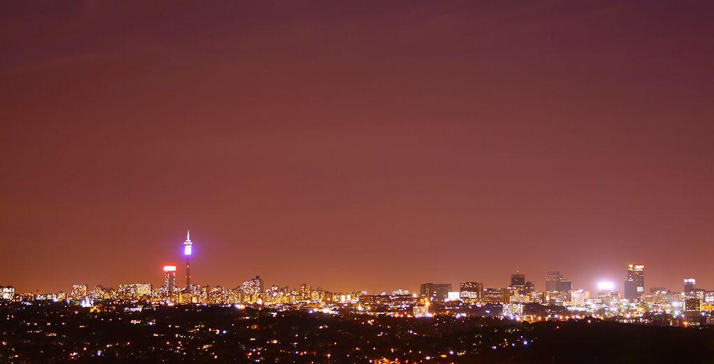 Beginnen Sie Ihr Abenteuer in Johannesburg