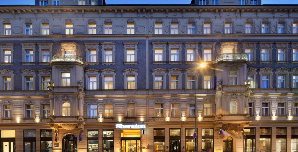 Entdecken Sie das Sheraton Prague Charles Square Hotel 5*
