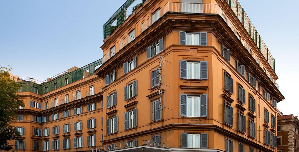 Willkommen im Hotel Victoria Roma 4*