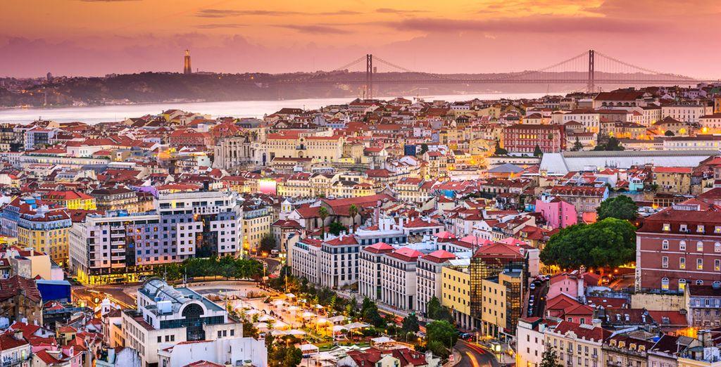 Erkunden Sie die lebhafte, farbenfrohe Hauptstadt Portugals