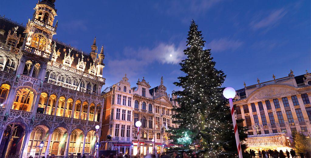 Besuchen Sie die Stadt zur Adventszeit