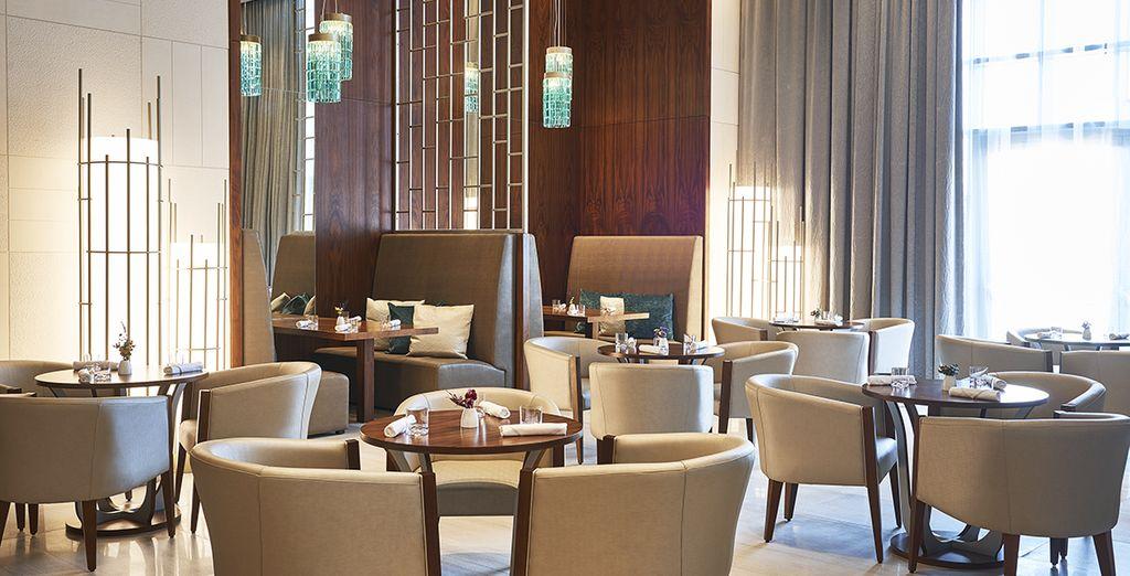 Testen Sie die verschiedenen Restaurants dieses Hotels