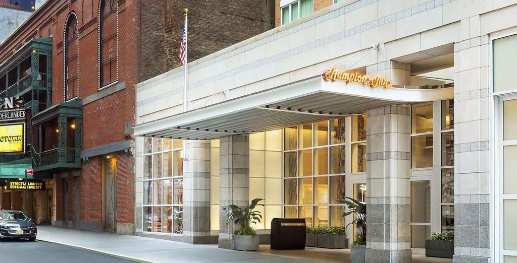 ... Hampton Inn Manhattan Times Square Central...