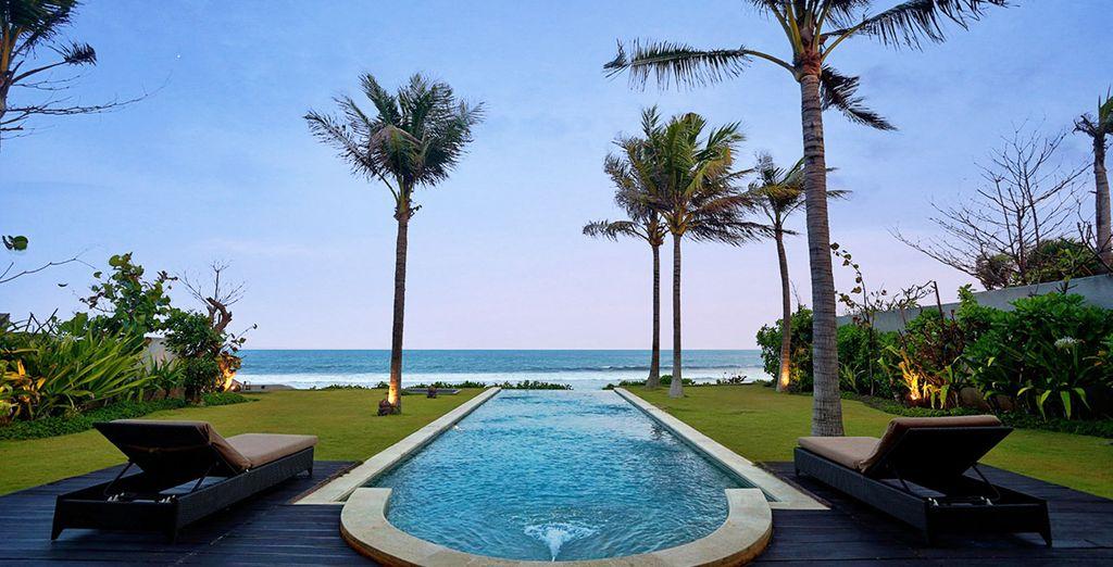 Dort übernachten Sie im Pandawa Beach Villas & Resort 4*