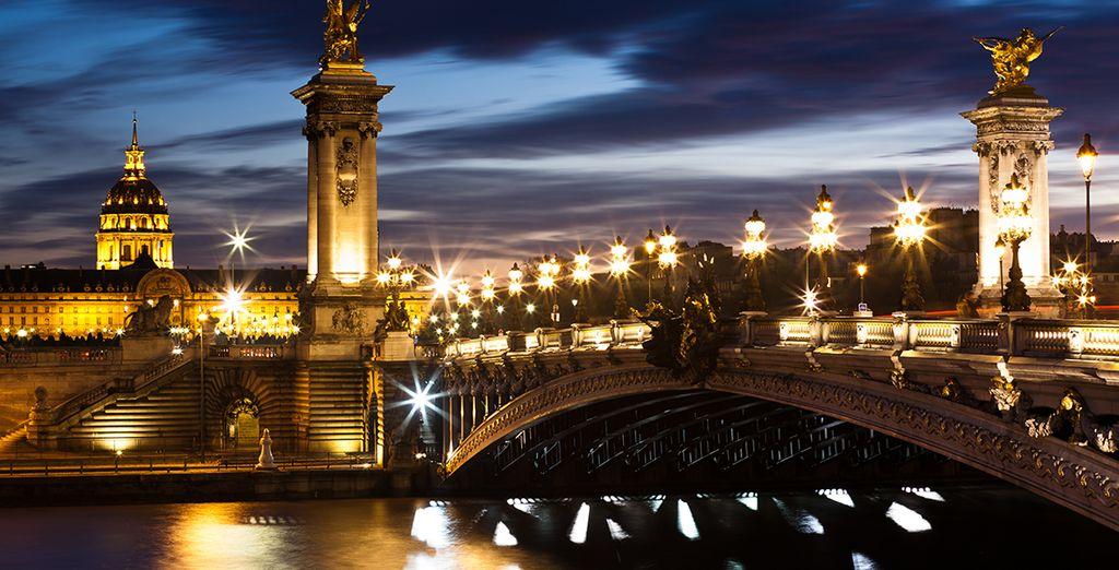 Wir wünschen Ihnen einen wunderschönen, unvergesslichen Aufenthalt in Paris!