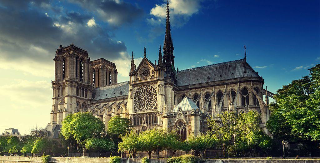 Weder die Notre Dame de Paris...