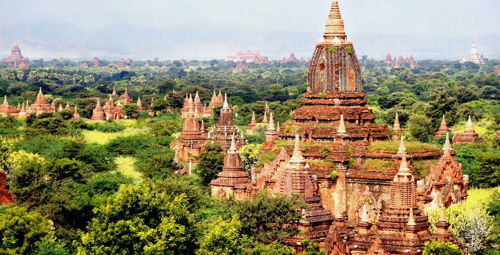 Bagan, Myanmars Hauptstadt vom 11. bis 13. Jahrhundert