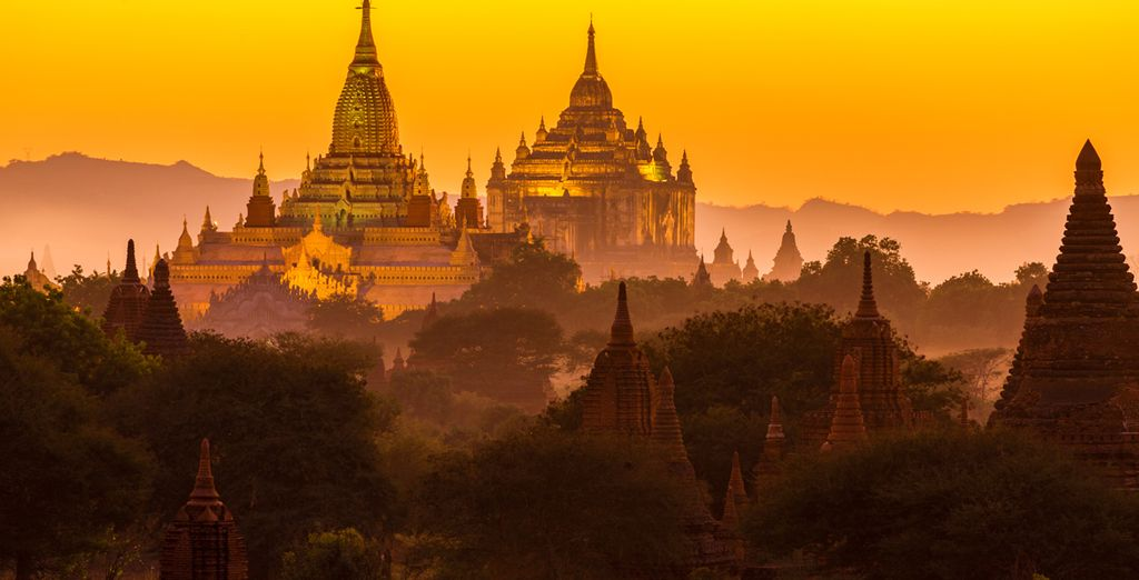 Und die vielen Tempel wie der von Ananda