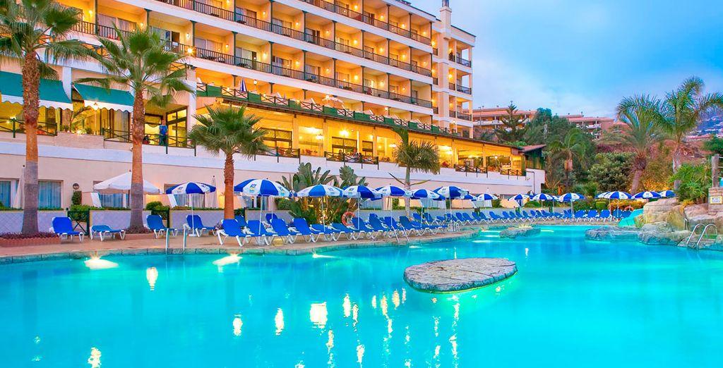 Hier werden Sie im Blue Sea Costa Jardín & Spa 4* übernachten