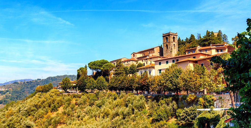 Wir wünschen Ihnen einen schönen Aufenthalt in der Toskana!