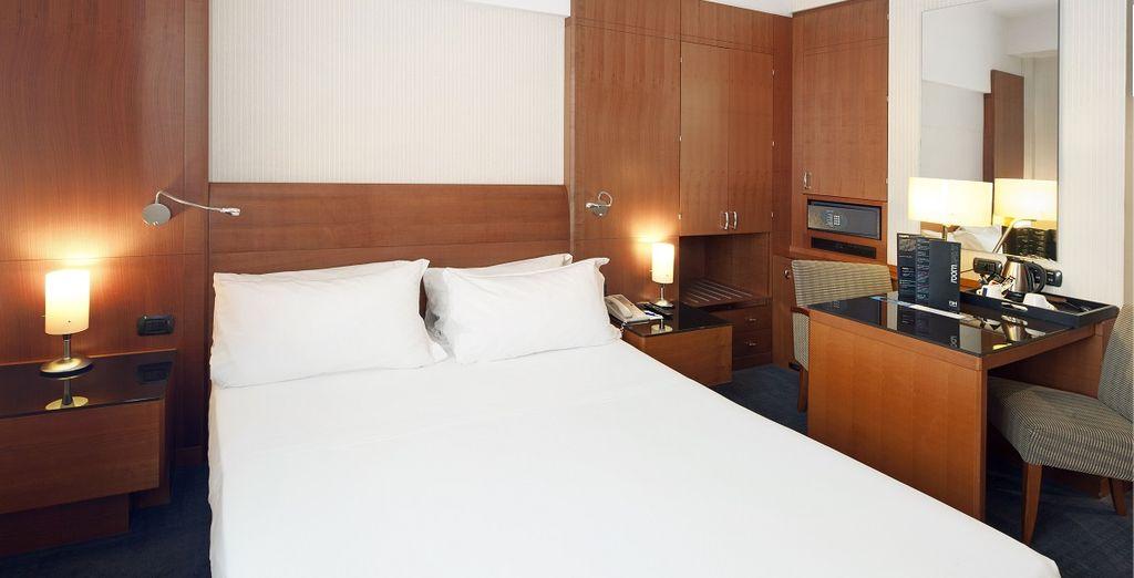 Die schönen Zimmer sind komfortabel eingerichtet