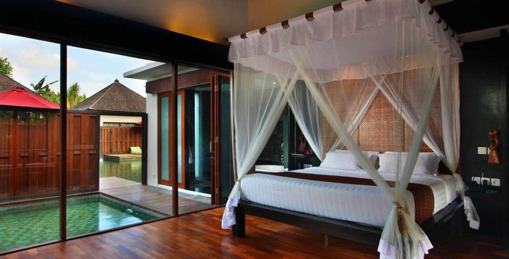 Wo Sie in einer Lagoon Pool Villa übernachten werden