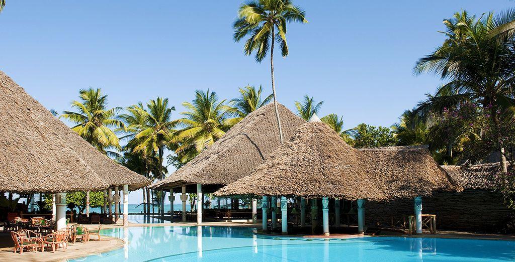 Bevor Sie in die idyllische Umgebung des Neptune Village Beach Resort eintreten