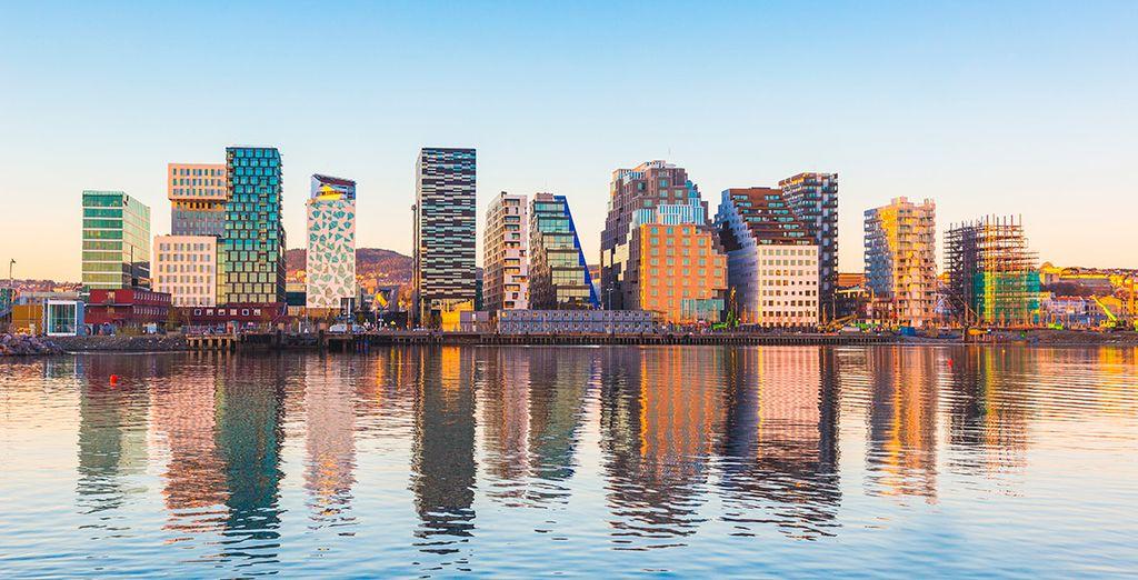 Ihre letzte Station ist Oslo, Hauptstadt von Norwegen
