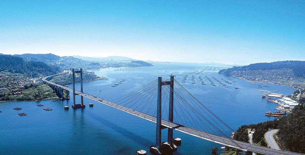 In Vigo ist die Puente de Rande eine der berühmtesten Sehenswürdigkeiten, diese sollten Sie auf jeden Fall besuchen