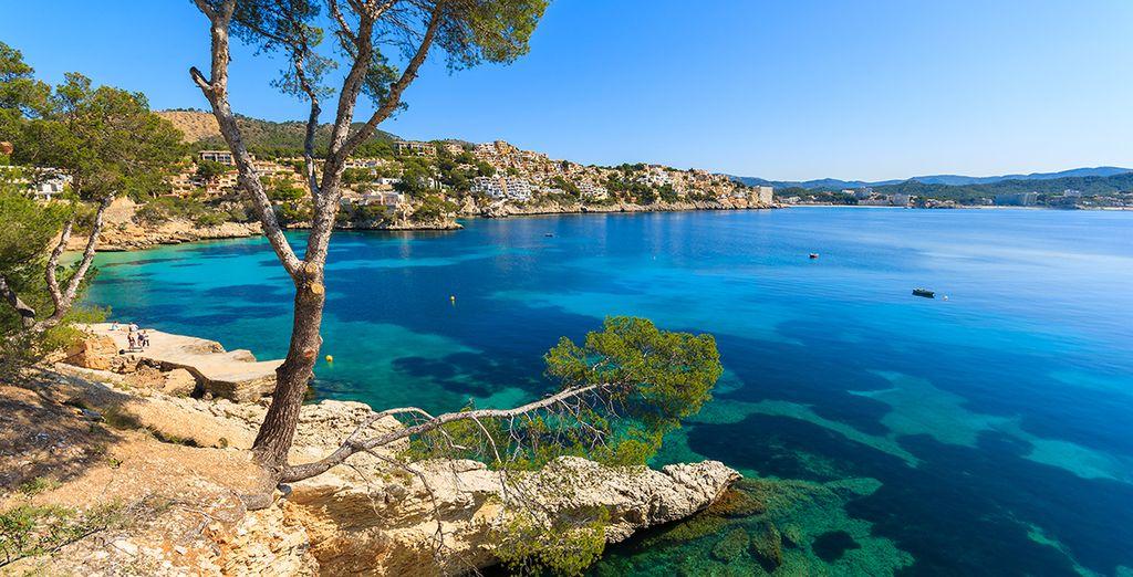 Bewundern Sie sich die schönsten Buchten des Mittelmeers!